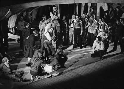 The cast of Billy Budd, 1951 (Roger Wood Collection)