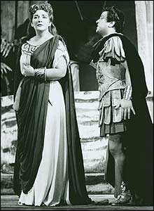 Maria Callas and Mirto Picchi in Norma, 1952 (Roger Wood Collection)