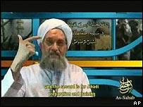 Ayman Zawahiri's latest video message