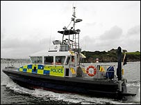 The MoD patrol boat prototype