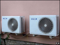 Air conditioning units will have to be switched off to save power