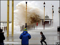 Storms at Blackpool
