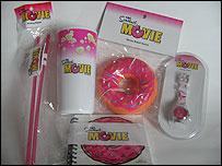 Simpsons Movie merchandise