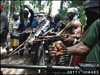 Militants in Nigeria
