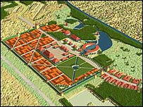 """Mapa """"Chinatown Oranienburgo"""""""