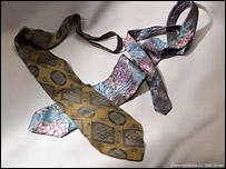 ''Стильные галстуки'' 1950-х и 1960-х годов (фото с сайта клуба Шкура)