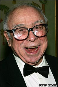 Art Buchwald in a February 2005 file photo