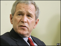 US President George W Bush (16 January 2007)