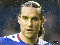 Rangers striker Dado Prso
