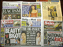 Papers showing Big Brother stories