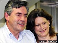 Gordon and Sarah Brown