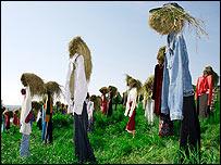 Scarecrow figures