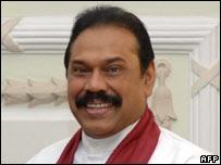 President Mahinda Rajapakse