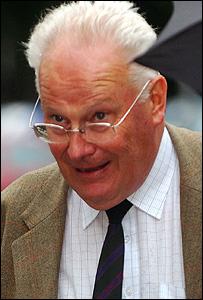 John Richards outside court