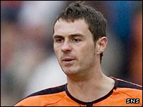 Dundee United defender David McCracken