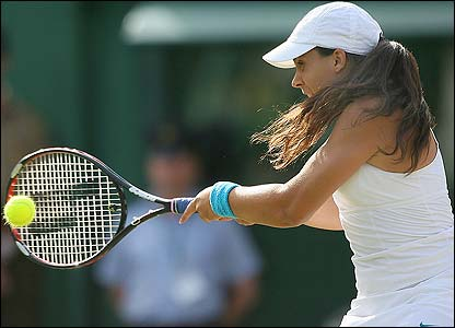 Bartoli plays a return to Henin