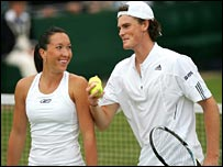 Jelena Jankovic and Jamie Murray