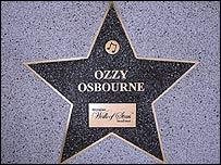 Ozzy Osbourne's star