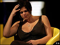 Jade Goody on Channel 4's Big Brother