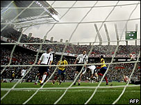 El estadio Metropolitano de Barquisimeto.
