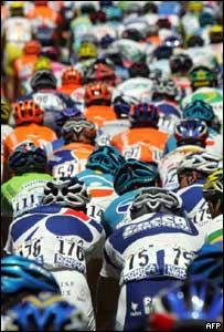 Pelotón del Tour de Francia