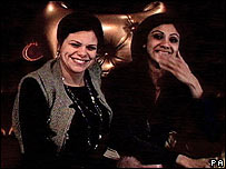 Jade Goody and Shilpa Shetty