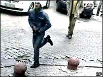 Dink murder suspect running