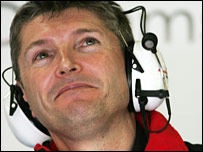 Honda team boss Nick Fry