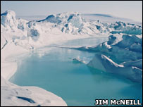 Ice melt (Jim McNeill)