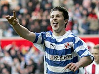 Reading striker Shane Long