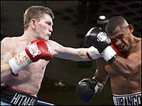 Ricky Hatton goes on the attack against Juan Urango