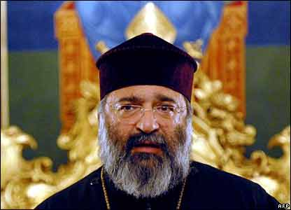 Armenian Patriarch Mesrob Mutafyan