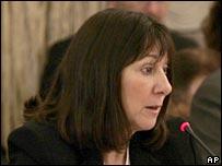 Argentina's Economy Minister Felisa Miceli