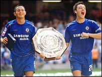 Frank Lampard (left) and John Terry