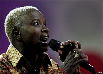 Benin Singer Angelique Kidjo