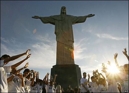 Christ the Redeemer, Rio de Janeiro, Brazil, May 2007