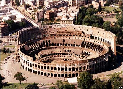 File picture of The Colosseum, Rome