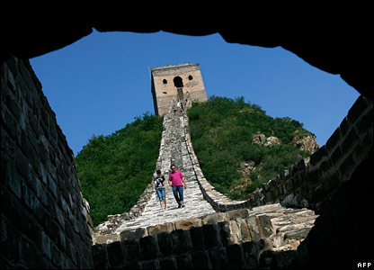 Great Wall of China, July 2007