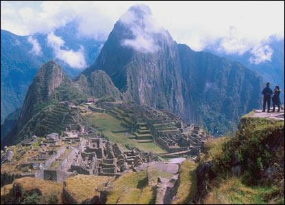 Machu Picchu, Peru, 2000 file picture