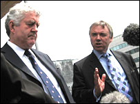Rhodri Morgan and Ieuan Wyn Jones