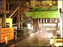 Corus aluminium production line