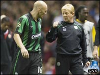 Thomas Gravesen (left) and Gordon Strachan