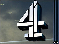 Channel 4 logo on building
