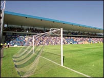Gillingham's Priestfield Stadium