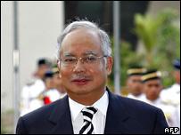 Malaysian Deputy Prime Minister Najib Razak