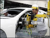 Nissan car production