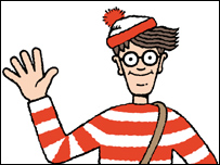 photograph regarding Where's Waldo Pictures Printable named BBC Information Organization Wheres Wally? spies contemporary foreseeable future