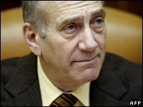 Israeli Prime Minister Ehud Olmert