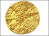 Old Scottish coin