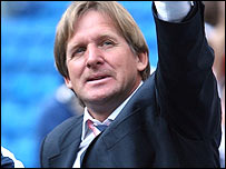 New Real Madrid coach Bernd Schuster